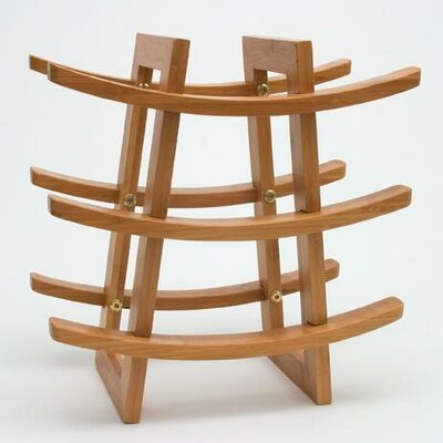 Lipper International 9 Bottle Wine Rack