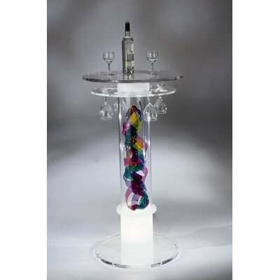 Shahrooz Carnival Acrylic Bar Table