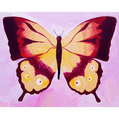 CiCi Art Factory Patchwork Swallow Tail Butterfly Giclee Canvas Print by Liz Clay