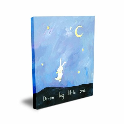 CiCi Art Factory Words of Wisdom Dream Big Little One Canvas Art