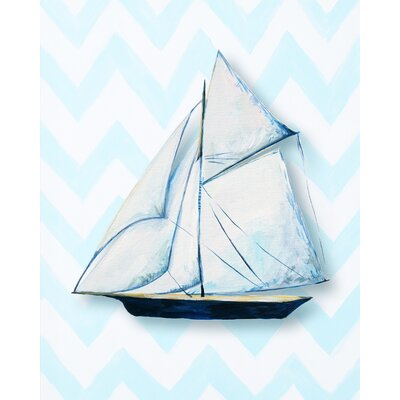 CiCi Art Factory Nautical Ship Giclée Canvas Print