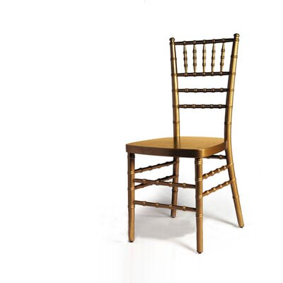 Advanced Seating Chiavari Chair in Gold with Optional Cushion