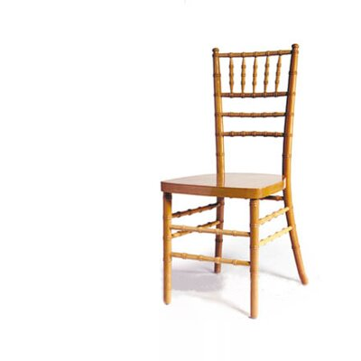 Advanced Seating Chiavari Chair in Natural with Optional Cushion