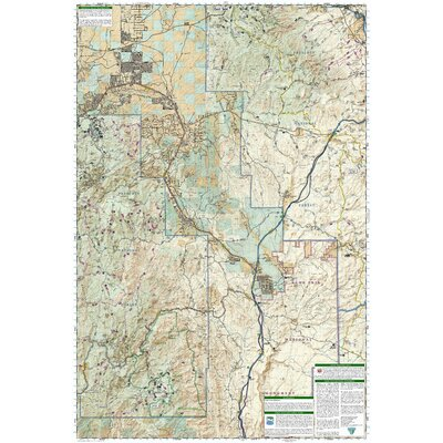 National Geographic Maps Trails Illustrated Map Bradshaw Mountains, Prescott National Forest