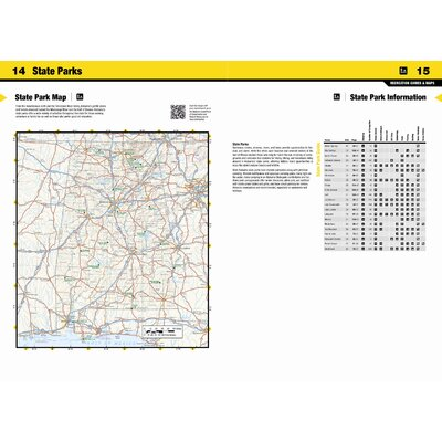 National Geographic Maps Alabama Road & Guide Map