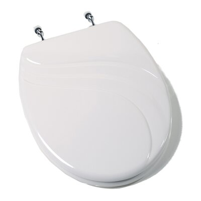 Comfort Seats Deluxe Molded Wood Elongated Toilet Seat