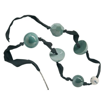 Makkum Pearl Necklace in Jade Collection by Alexander van Slobbe