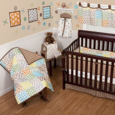Sumersault Doodles Crib Bedding Collection