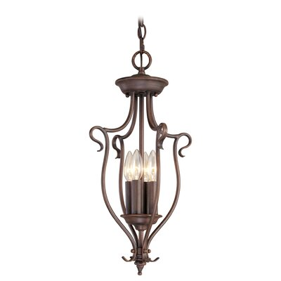 Livex Lighting Coronado 4 Light Foyer Pendant