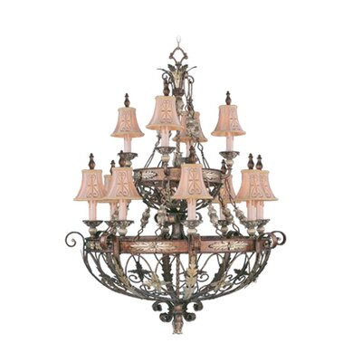 Livex Lighting Pamplona 12 Light Chandelier