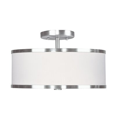 Livex Lighting Park Ridge Semi Flush Mount