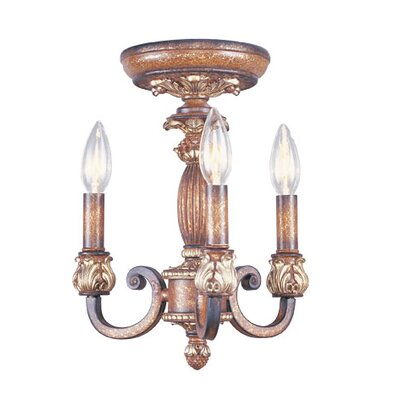 Livex Lighting Savannah 3 Light Convertible Pendant