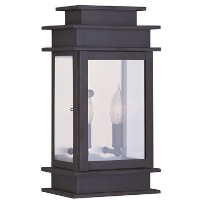Livex Lighting Princeton 2 Light Outdoor Wall Lantern