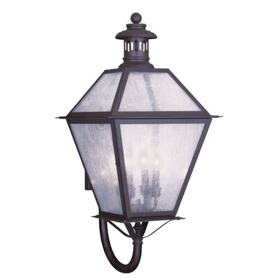 Livex Lighting Waldwick 4 Light Outdoor Wall Lantern