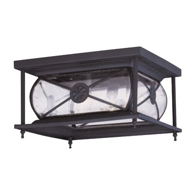 Livex Lighting Providence 2 Light Outdoor Flush Mount