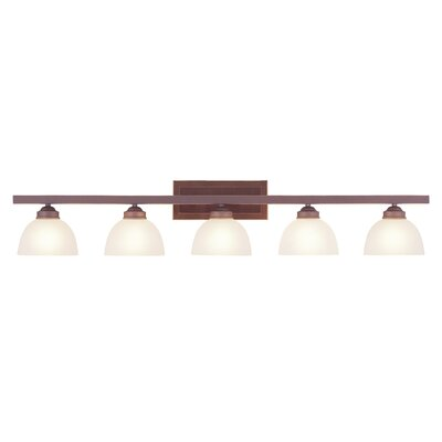 Livex Lighting Somerset Five Light Bath Vanity