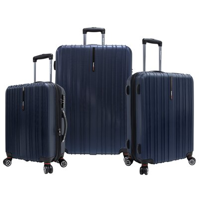 Traveler's Choice Tasmania 3 Piece Expandable Spinner Luggage Set