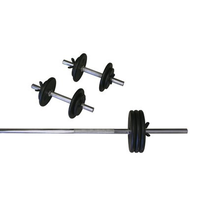 Amber Sporting Goods Standard Weight Set