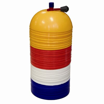 Amber Sporting Goods Dome Cones Marker Set (Set of 40)