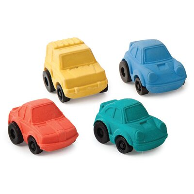 Kikkerland New Racer Erasers (Set of 2)