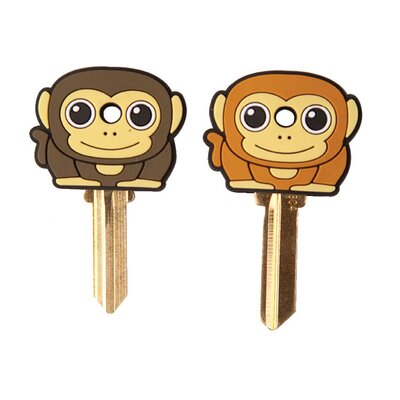 Kikkerland Accessories Keycap Monkey (Set of 2)