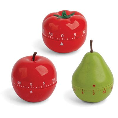 Kikkerland Assorted Fruit Timer