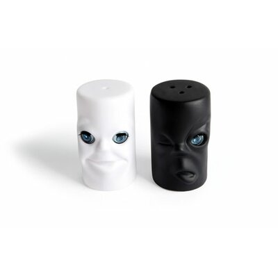 Kikkerland Max and Moritz Salt and Pepper Shakers