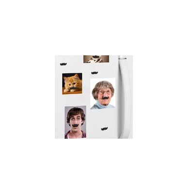 Kikkerland Mustache Magnets (Set of 8)