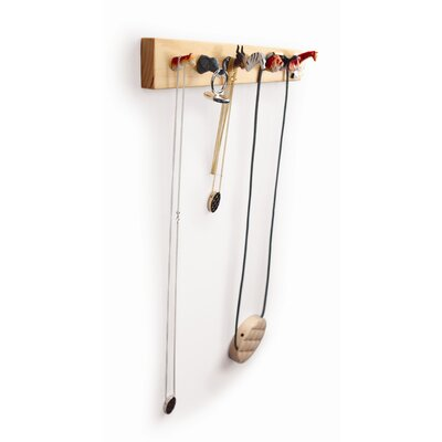 Kikkerland Pack Rack Jewelry Holder