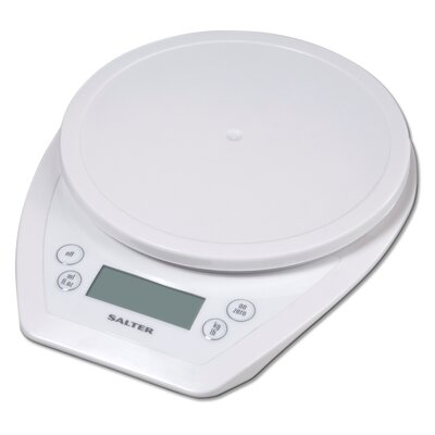 Salter Aquatronic Electronic Scale in White