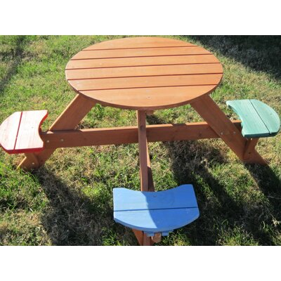 Swing Town Kids Picnic Table