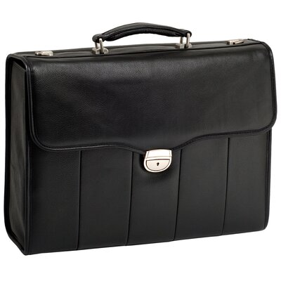 McKlein USA I Series North Park Leather Executive Briefcase