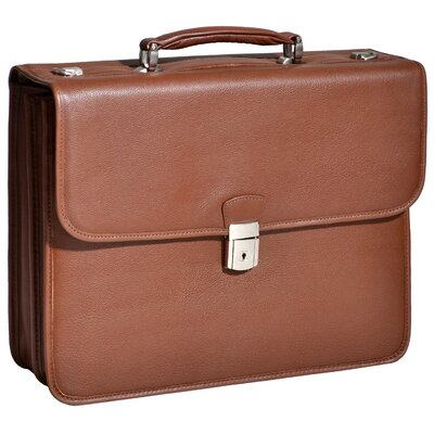 McKlein USA S Series Ashburn Leather Laptop Case
