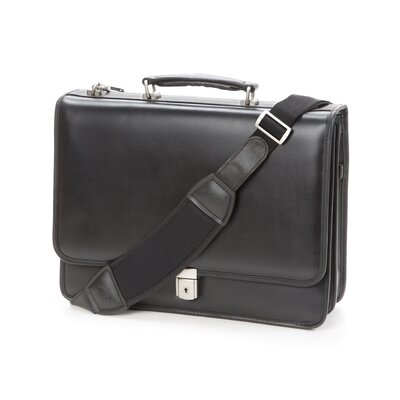 V Series Lexington Leather Briefcase