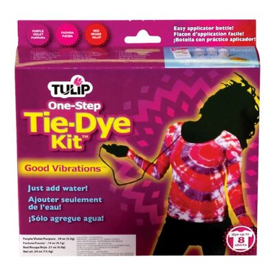 Tulip One Step Dyes Good Vibrant Tie Kit