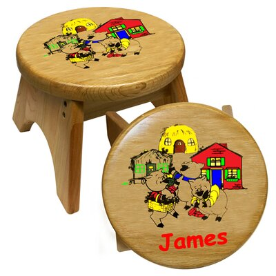 Holgate Toys 3 Little Pigs Kid's Stool