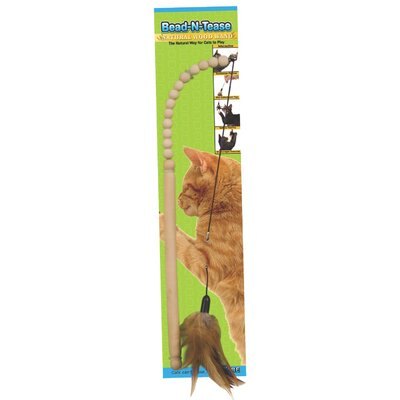Ware Mfg Bead-N-Tease Cat Toy