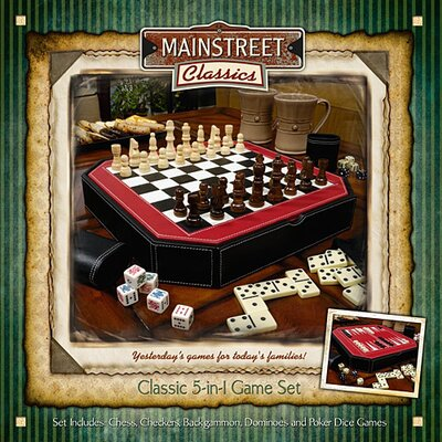 Main Street Classics Octagon Five in One Game