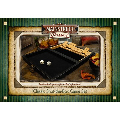 Main Street Classics Shut the Box Game