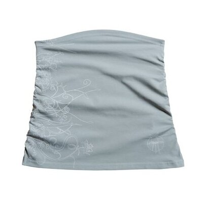 Lassig Bags Belly Band in Vertical Grey Ruffled