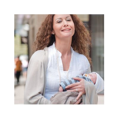 Lassig Bags All Over Multifunctional Nursing Wrap in Grey