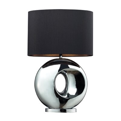 Dimond Lighting Tobermore One Light Table Lamp in Chrome