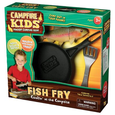 Insect Lore Campfire Kids Trout Fish Fry Set
