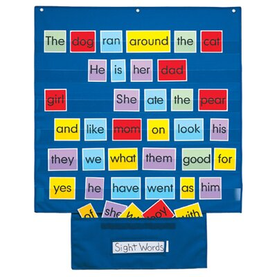 Patch Products Mid Size Wall Pocket Chart