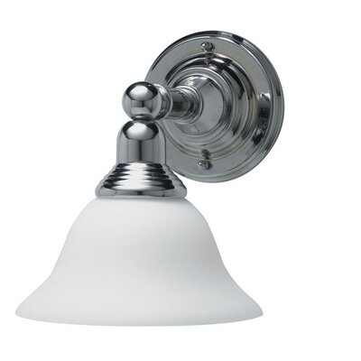 Innova Diana One Light Wall Sconce in Chrome