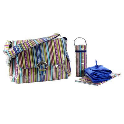 Kalencom Laminated Buckle Diaper Bag Set