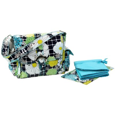 Kalencom Coated Midi Buckle Diaper Bag
