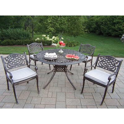 Oakland Living Capitol Mississippi Dining Set with Cushions