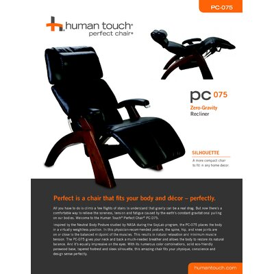 Human Touch Perfect Chair Ergonomic Recliner