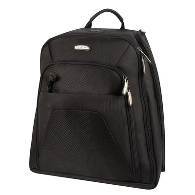 Quick Pass Check Point Friendly Computer Backpack in Black